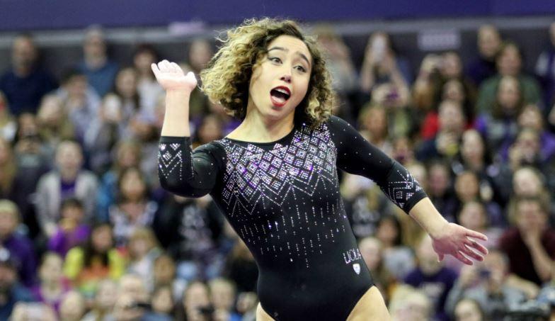 #Tendencias La gimnasta Katelyn Ohashi lo ha vuelto a hacer…