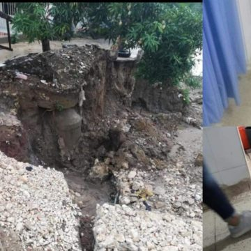 Torrencial aguacero generó emergencias en Baranoa