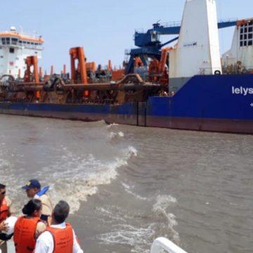 85 mil metros cúbicos removidos en el nuevo dragado en puerto de Barranquilla