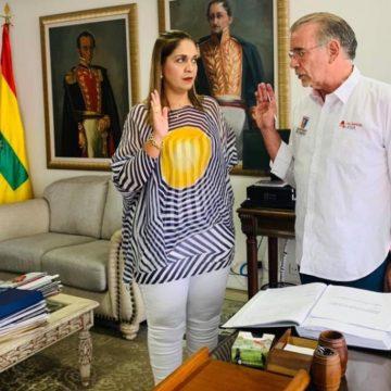 Karina Orozco, nueva gerente del Hospital Niño Jesús de Barranquilla