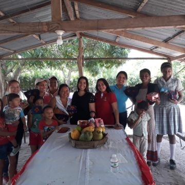 "Clausura taller ""Pintura en madera"" en zona rural de Malambo."