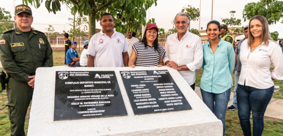 #AtlánticoLíderEnObras: Verano pone al servicio de la comunidad un gran complejo deportivo en Manatí