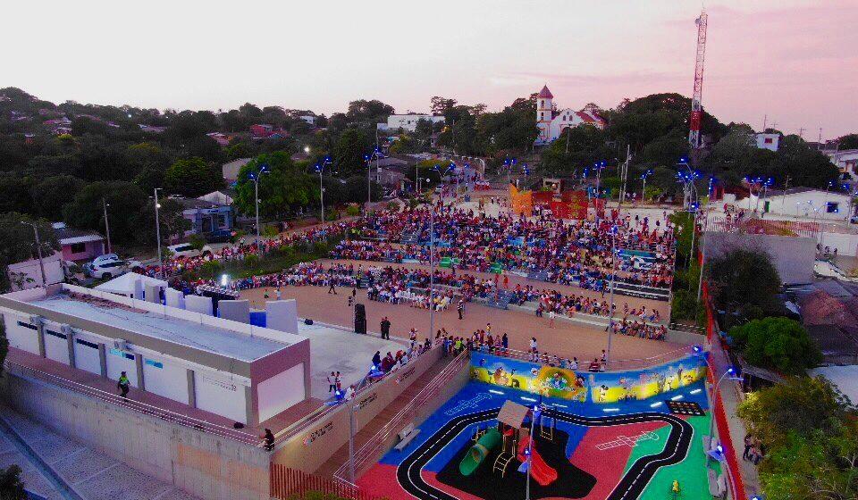 #AtlánticoLíderEnObras: Atlántico tiene otro atractivo turístico: la plaza 'étnica' de Tubará