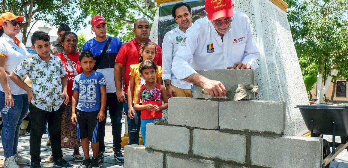 #AtlánticoLíderEnObras: Verano incluye plaza y estadio de fútbol para Baranoa en las 400 obras que le dejará al Atlántico