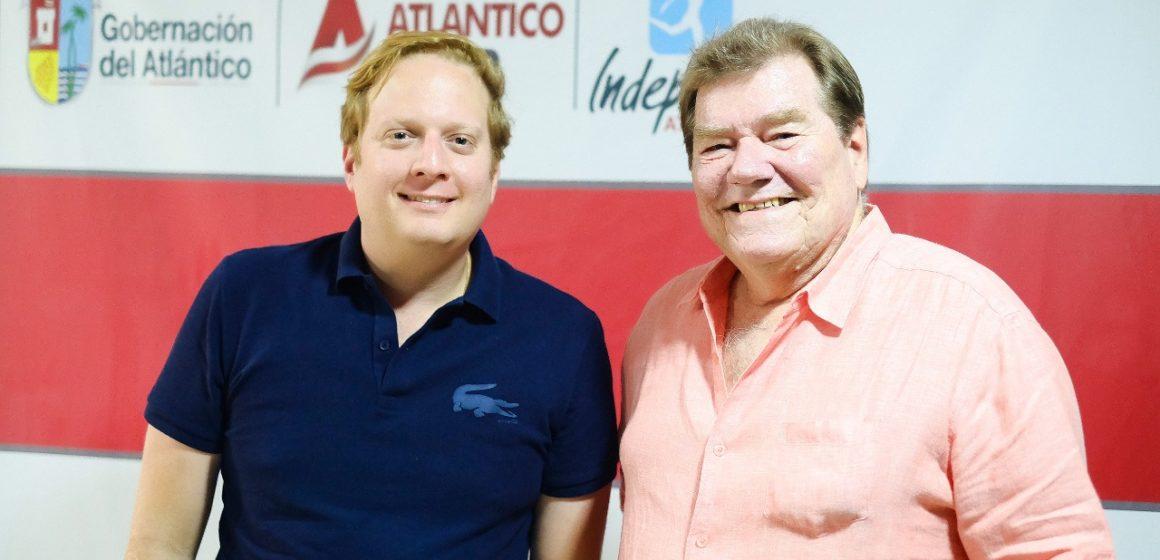 Gobernación nombra a Helmut Bellingrodt como Jefe de Misión del Atlántico a los Juegos Nacionales 2019