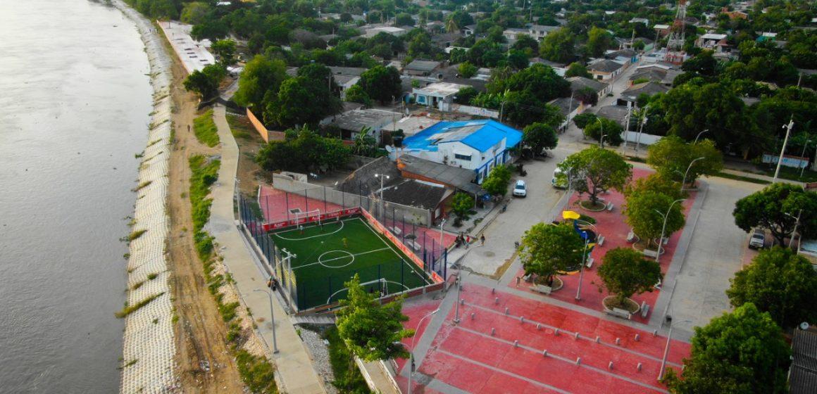 #AtlánticoLíderEnObras: Hoy, gobernador Verano entregará plaza y malecón en Santa Lucía