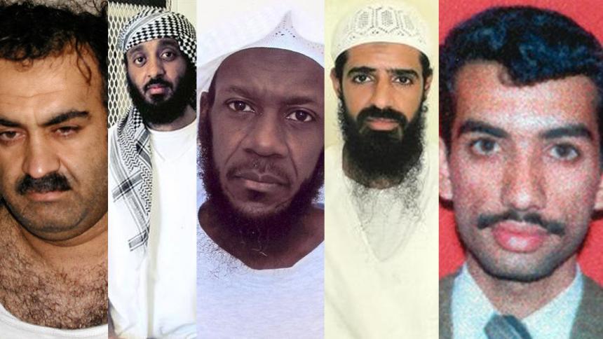 Tras 18 años del 11-S, así será el juicio de los cinco terroristas acusados de planificar los ataques