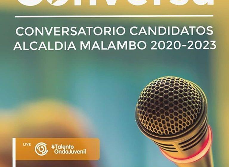 Conversatorio con candidatos a la Alcaldía de Malambo 2020 – 2023, jueves 17 octubre, 4:00 p.m. Centro comunitario Huellas.