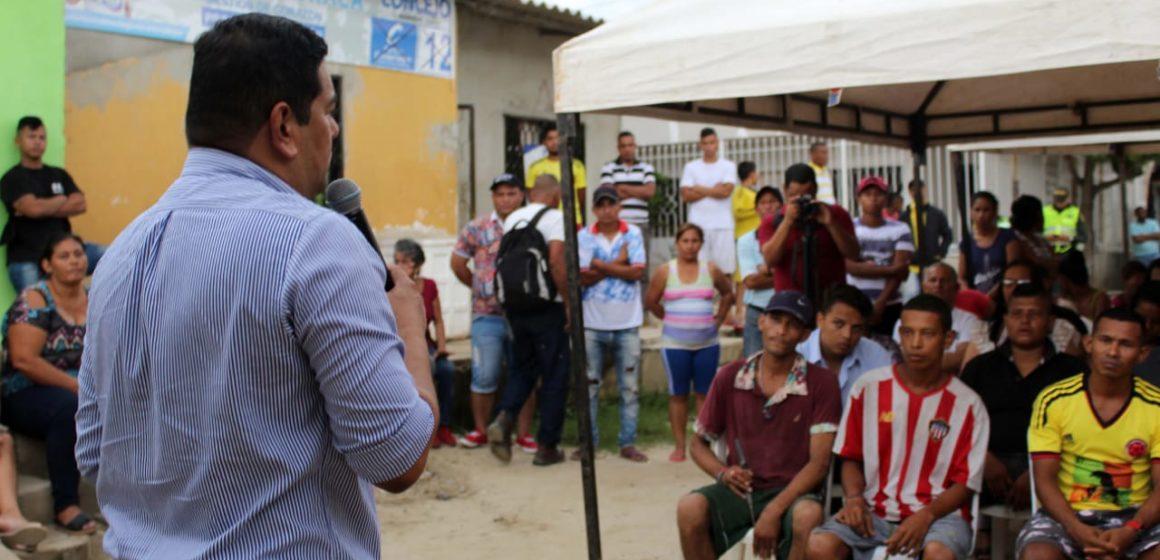 Socializan construcción Centro de Desarrollo Infantil (CDI), en Malambo.