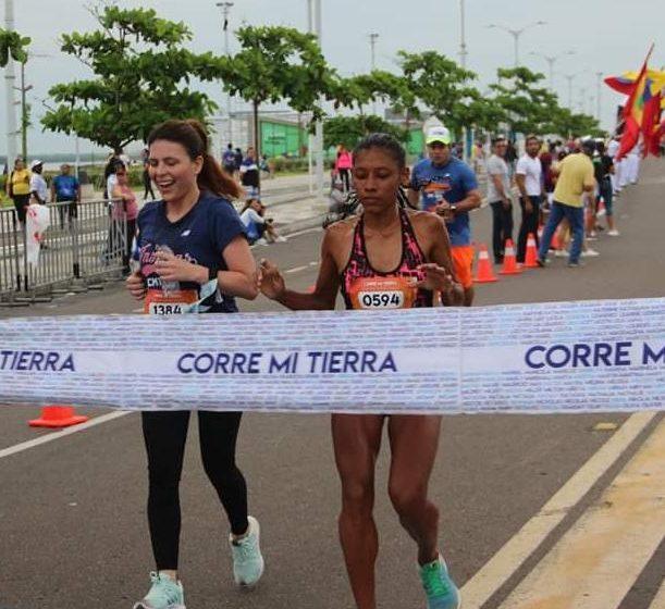 """Otro triunfo para el municipio de Malambo, """"Paola De La Rosa Gana Carrera en Corre Mi Tierra en sus 10k"""""""
