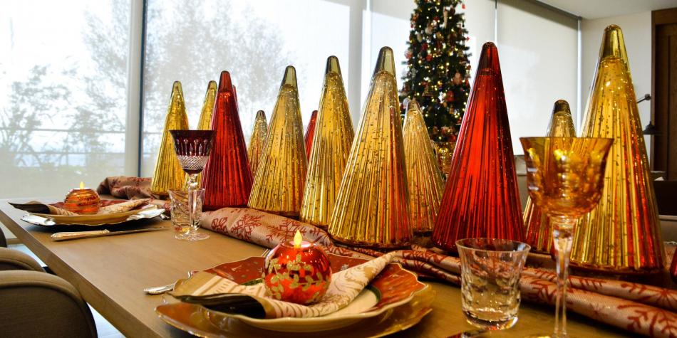 Tendencias para decorar su mesa en Navidad