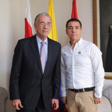 Profesor Jorge Luis Restrepo Pimienta asume como rector (e) de Uniatlántico