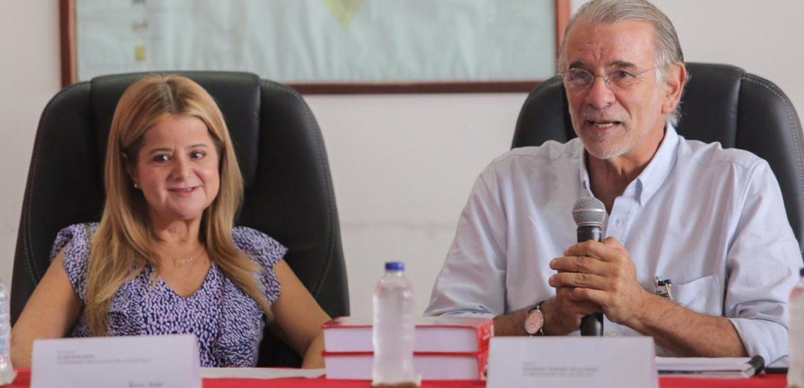 """""""Gobernador, nos dejas la vara alta, tenemos que redoblar esfuerzos: Elsa Noguera"""