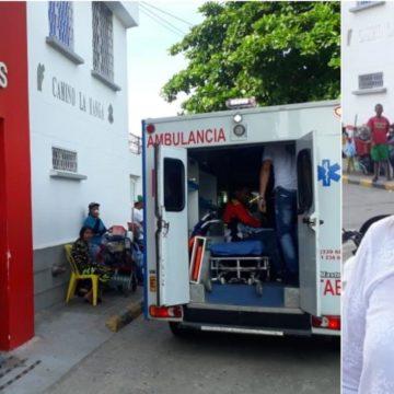 Conato de incendio en el Camino La Manga: 7 pacientes fueron trasladados