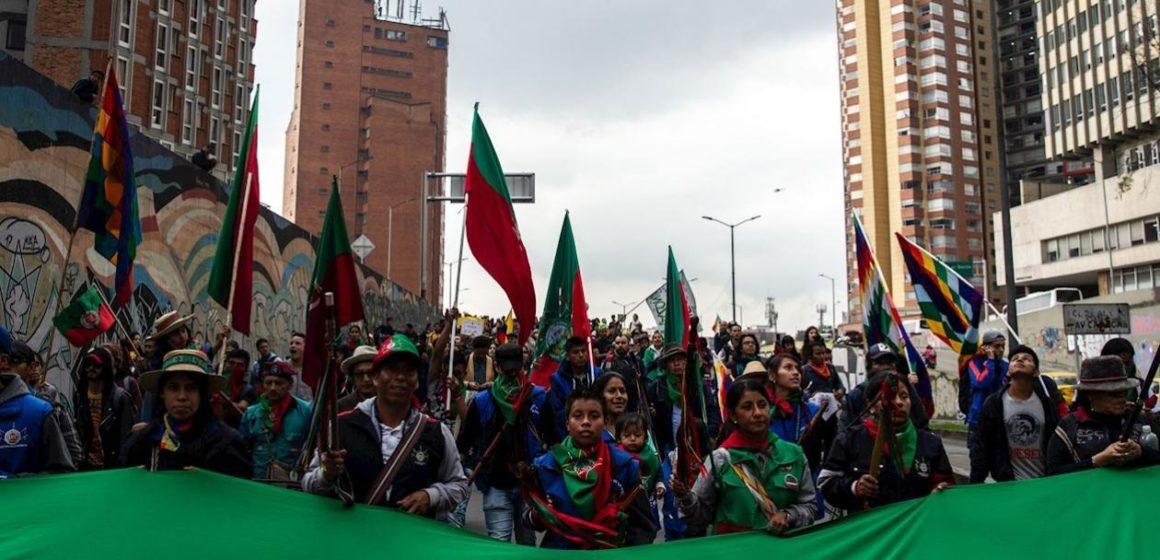 Indígenas se sumaron a las protestas y le piden a Duque escuchar clamor popular