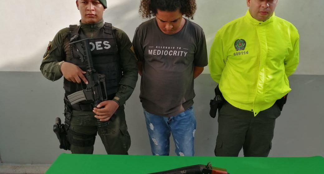 Capturado Edil del Suroccidente de Barranquilla, señalado de expender droga y tráfico de arma