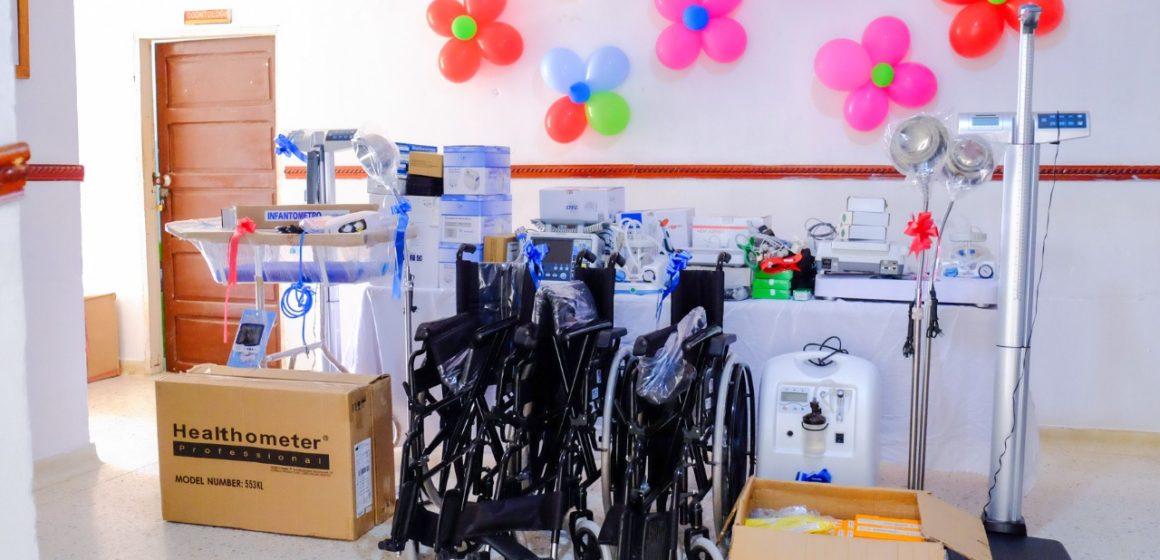 Con equipos biomédicos, Gobernación moderniza hospital de Piojó
