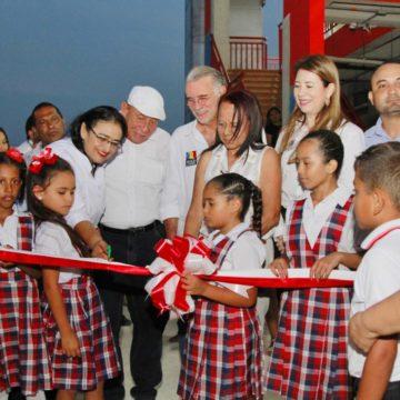 #AtlánticoLíderEnObras: Verano entregó dos nuevos 'Colegios 10' para beneficiar a 2.600 estudiantes en Juan de Acosta y el corregimiento de Santa Verónica