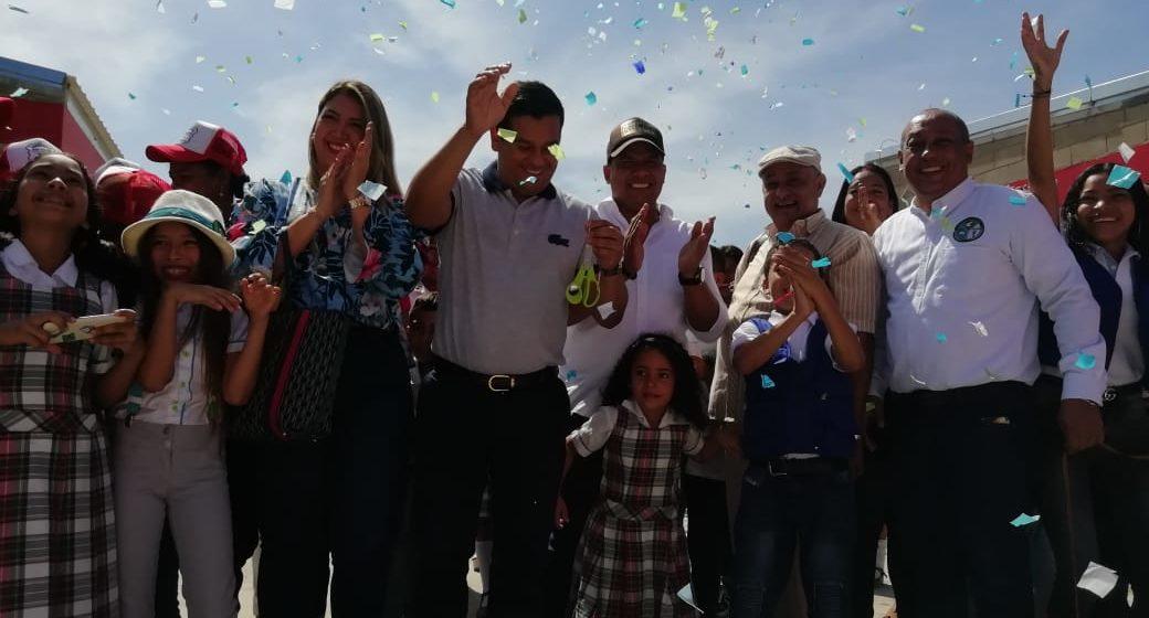 Alcalde Bello entrega nuevo colegio 10, en Malambo