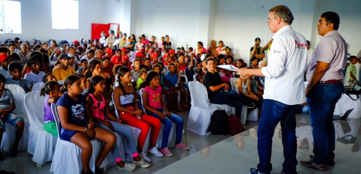 #AtlánticoLíderEnObras: Gobernación escribe una nueva página en la Cultura de Campo de la Cruz