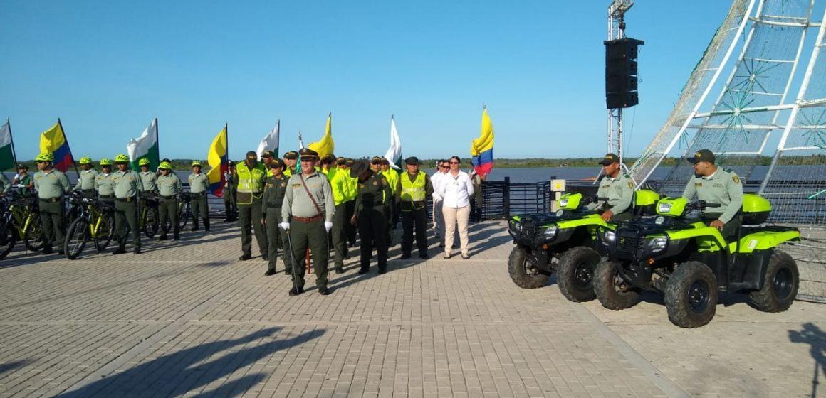 En servicio Distrito de Policía Turístico en Barranquilla: inicia con 73 uniformados