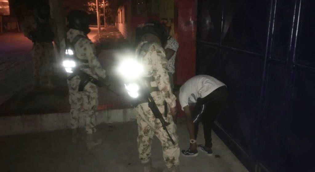 Ejército Nacional realiza patrullaje en el sur de Malambo para combatir la inseguridad
