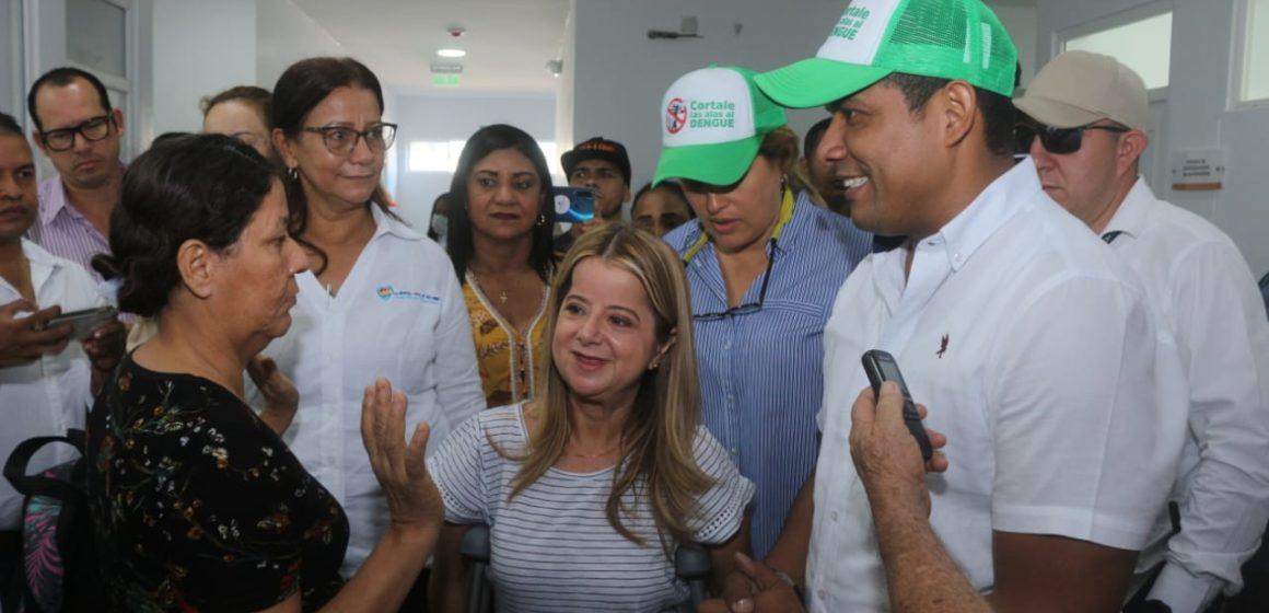 Gobernadora Elsa Noguera se compromete con un Malambo más seguro y saludable