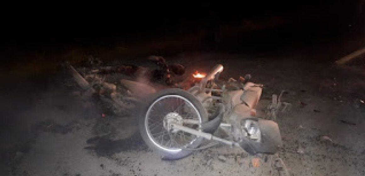 Motociclista murió calcinado en Juan de Acosta: chocó con otra moto y ambas se incendiaron