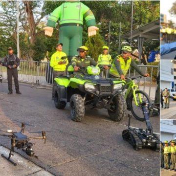 1.200 policías vigilarán el desfile de Guacherna esta noche