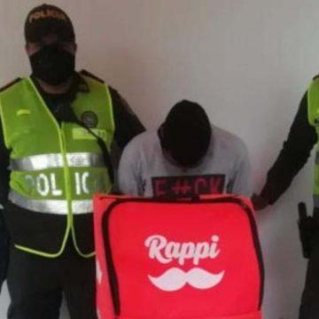 Se hacía pasar por Rappi para vender marihuana durante la cuarentena en Montería