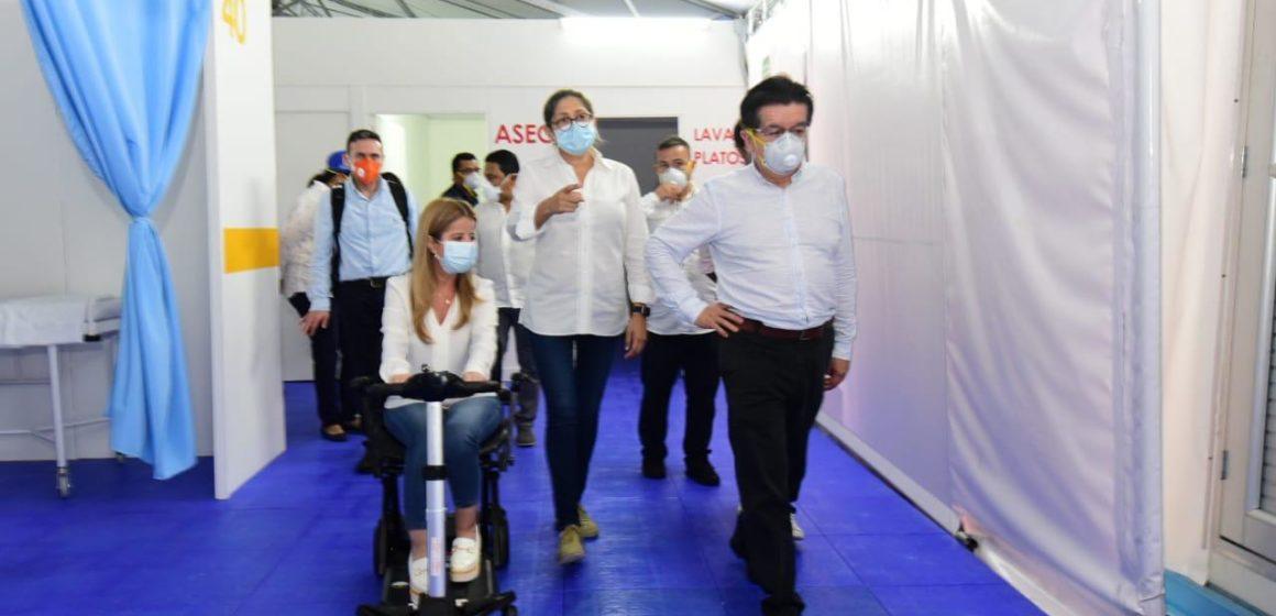 Minsalud se compromete a revisar tema de dotación del nuevo hospital de Soledad para habilitarlo como centro de atención de COVID-19