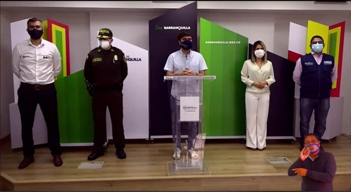 A partir del 17 de julio se levanta el toque de queda en Barranquilla: alcalde Pumarejo