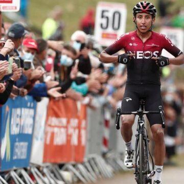 Egan Bernal ganó la etapa reina de la Ruta de Occitania y alcanzó el liderato