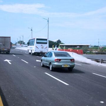 Gobernación habilita calzada de la calle 30 sobre el puente La Virgencita
