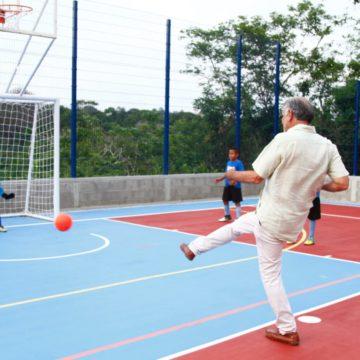 Gobernación del Atlántico pone al servicio de la comunidad complejo deportivo en Tubará