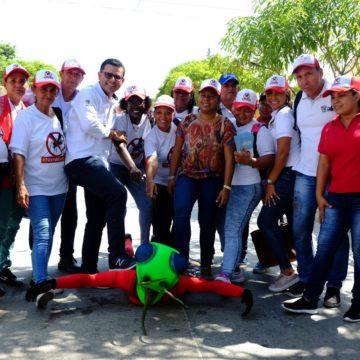Comunidad, pieza clave para combatir el dengue