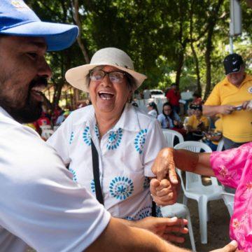 Festivejez hizo gozar a 700 personas mayores del Atlántico