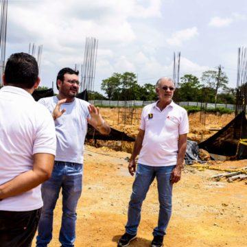 #AtlánticoLíderEnObras: Avanza la construcción del primer bloque de aulas de Uniatlántico en Sabanalarga