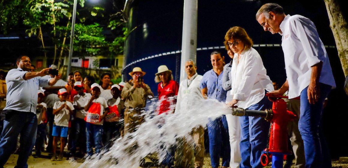 #AtlánticoLíderEnObras: Verano deja a Piojó y sus corregimientos con servicio de agua potable todo el día