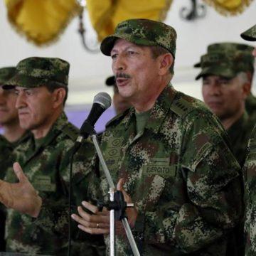 General Nicacio Martínez no va más como comandante del Ejército Nacional