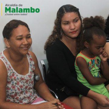 Alcaldía de Malambo realizó proceso de inscripción para estudiantes en extraedad