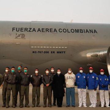 Misión humanitaria ya despegó desde Corea del Sur hacia Wuhan para buscar a colombianos