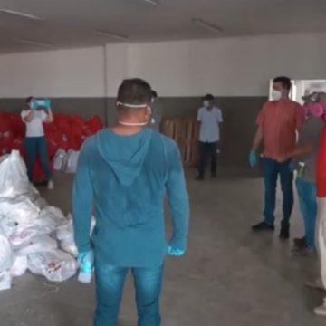 Alcaldía de Soledad adelanta entrega de mercados donados por la Primera Dama de la Nación