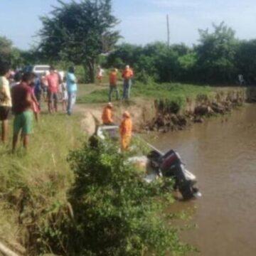 Rescatan cuerpos de pareja que pereció ahogada en brazo del río Magdalena: habían decidido celebrar el embarazo de la mujer y encontraron la muerte
