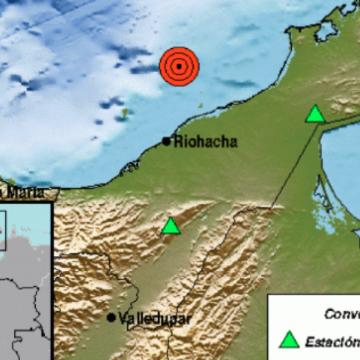 Otro sismo en el mar Caribe fue sentido en La Guajira