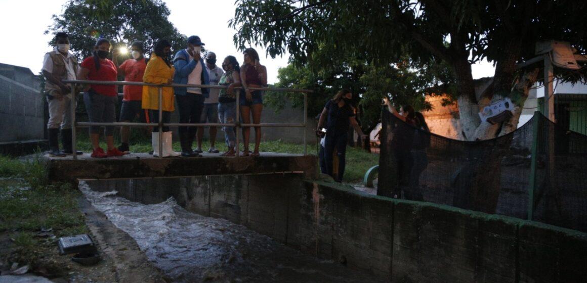 Siete barrios afectados por las fuertes lluvias en Malambo