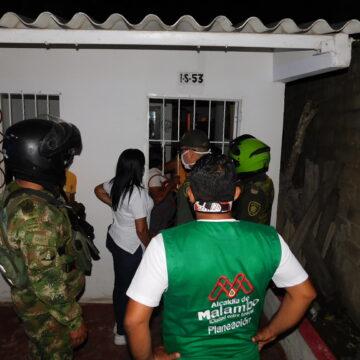 La Caravana por la Vida sigue manteniendo el orden público en Malambo