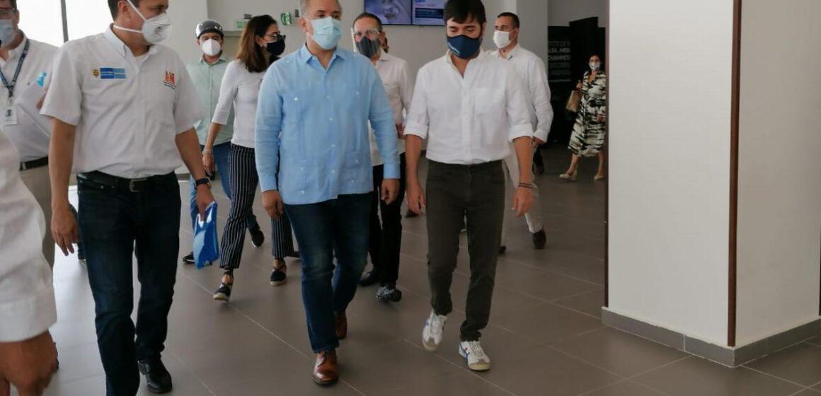 Presidente Duque oficializa reapertura del aeropuerto 'Ernesto Cortissoz'