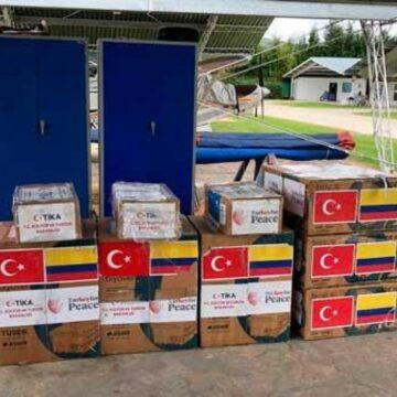 Turquía dona equipos médicos a Colombia para atender pacientes en UCI
