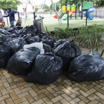 Instituto de Deportes lanza estrategia 'Patrulla al Parque', para mantener limpias las zonas verdes y los escenarios deportivos